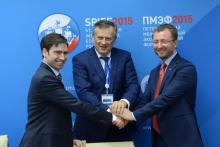 "Government of the Leningrad region signed an agreement with ""TÜV SÜD RUS"" within St.Petersburg International Economic Forum SPIEF – 2015"